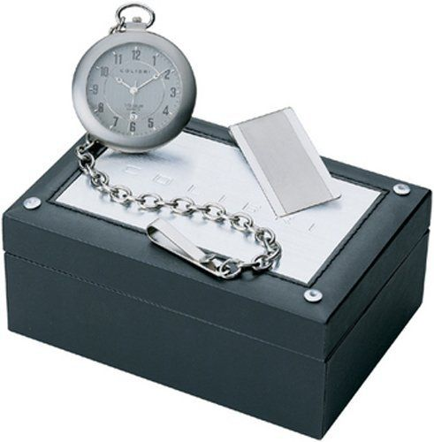Colibri Pocket Watch & Money Clip SatinTitanium PWQ096807S Colibri. Save 54 Off!. $59.95. Money Clip. Easy to Read Numbers. Pocket Watch Chain. Colibri Titanium Open Face Pocket Watch. Quartz Movement with Date