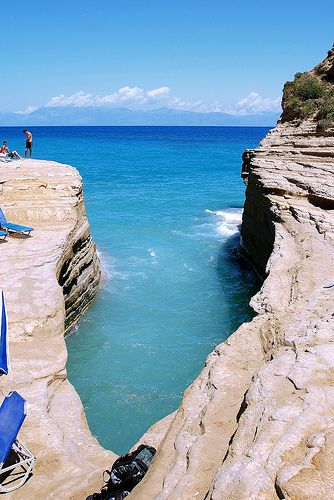 Sidari, Corfu, Greece <3<3 Visit http://www.hot-lyts.com/ for beautiful background images