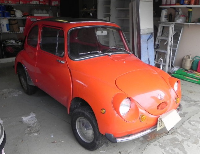 1969 Subaru 360 - oldie but a goodie and has suicide doors!!! LOVE IT