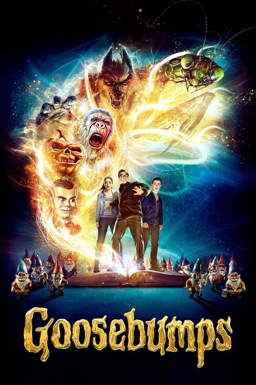 Goosebumps - movie poster