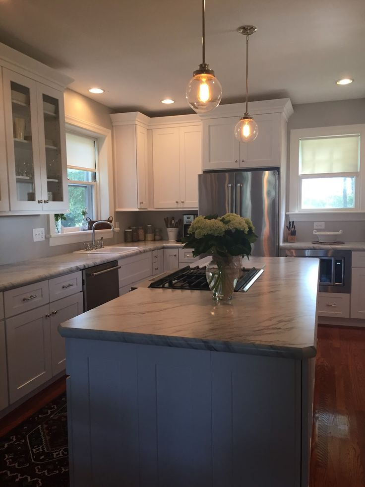 Shaker Elite Cabinets By Lily Ann Hello Friends, Today I Would Like To  Share Recently Completed White Elite Kitchen Cabinets Project For One Of  Our Happy ...
