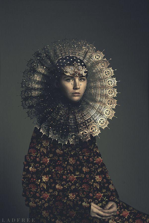Renaissance dandelion on Behance | Art, Art photography, Artist