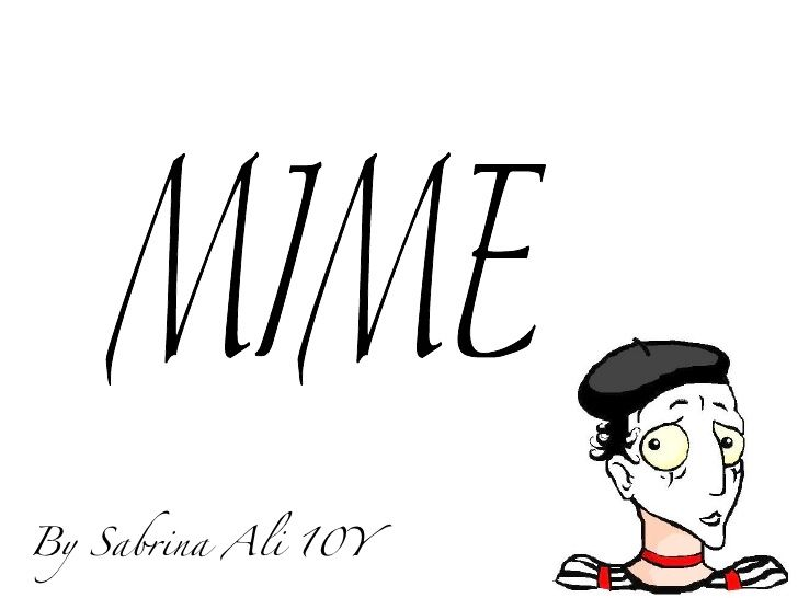 21-mime-presentation by syedasabrinaali via Slideshare