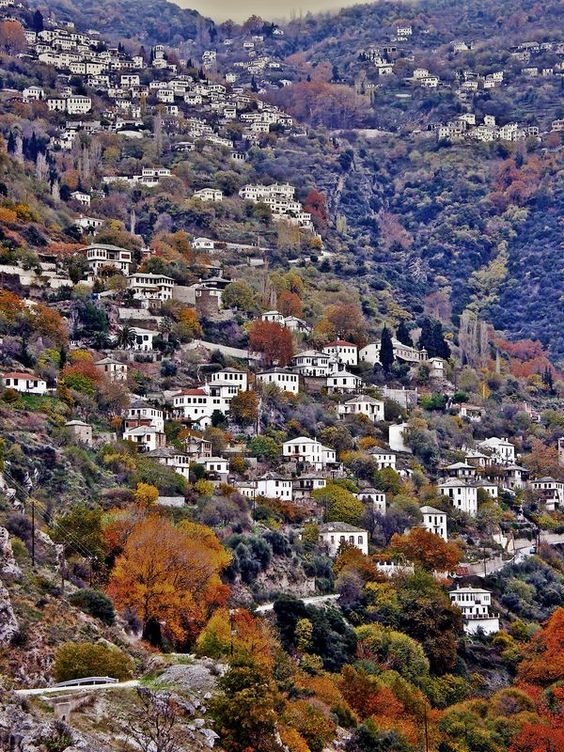 "Makrinitsa, nicknamed ""balcony of Mount Pelion,"" is a village  in Magnesia, Thessaly, Greece. It is situated at an altitude of 600 meters in the northwestern part of the Pelion mountains, 6 km northeast of Volos."