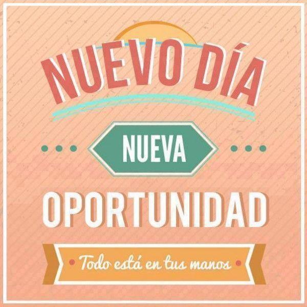Buenos días! ¿A qué vais a dedicar hoy el día?