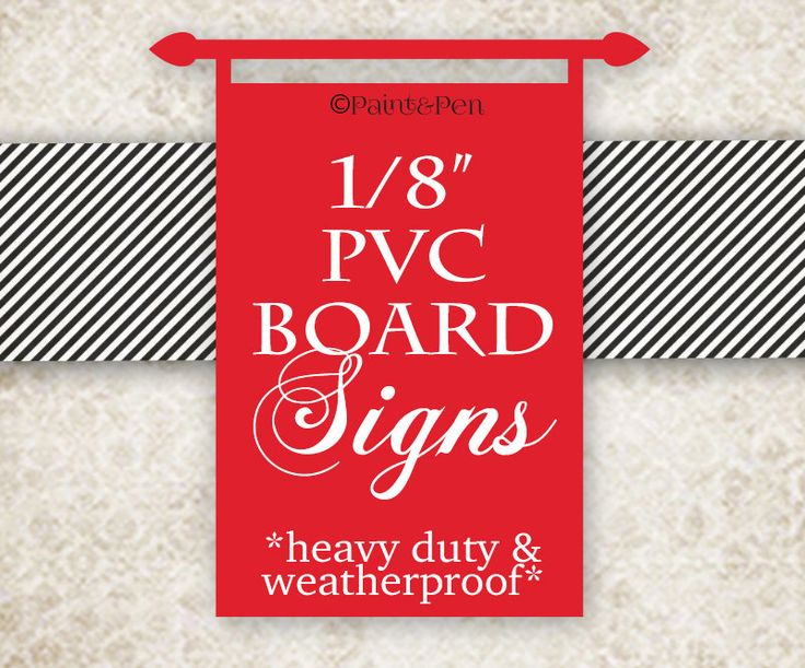 New to PAINTandPEN on Etsy: Hard Board Sign- Ready to Hang Poster- Birthday Poster- Business Signage- Interior / Exterior Signage- Outside Weatherproof Sign- Heavy Duty (29.00 USD)
