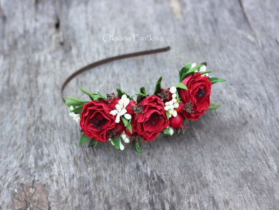 Hair Accessory.Headband flower от FlowersAccessorie на Etsy