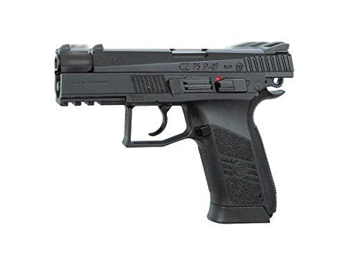 ASG CZ 75 P07 Duty Airgun Rifle with Blowback Black * Click image to review more details.