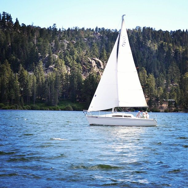Boating in Big Bear Lake, CA
