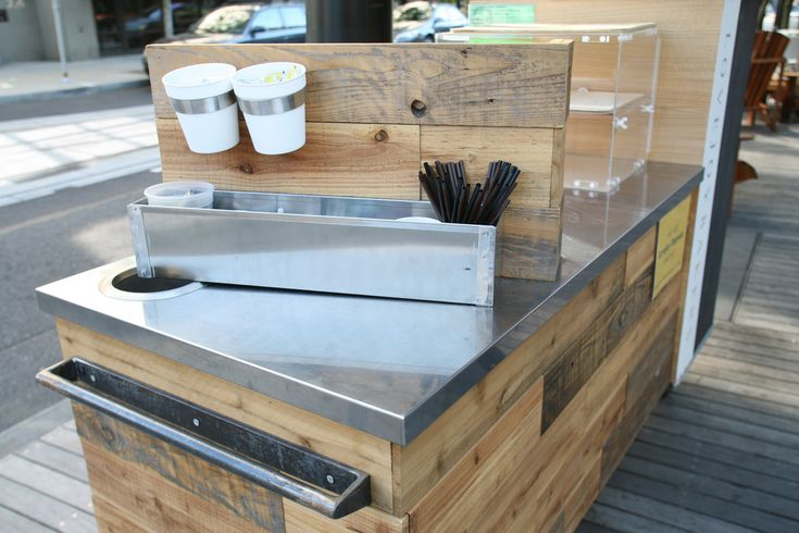 17 best ideas about coffee carts on pinterest coffee bar for Coffee cart design