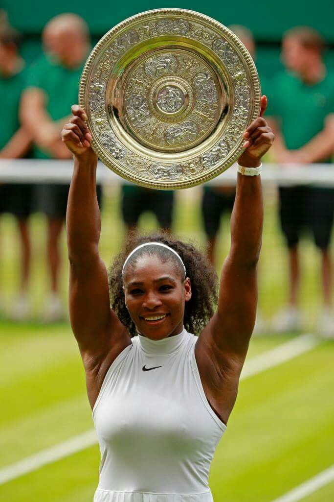We are so happy to see #SerenaWilliams win Wimbledon for the 7TH TIME!! We are SO proud of you!!