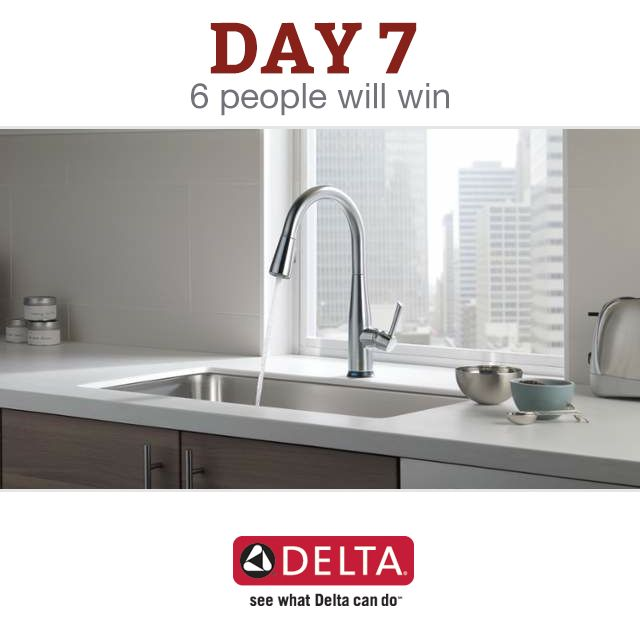 Win awesome stuff for your home.  Enter Daily at build.com/12days