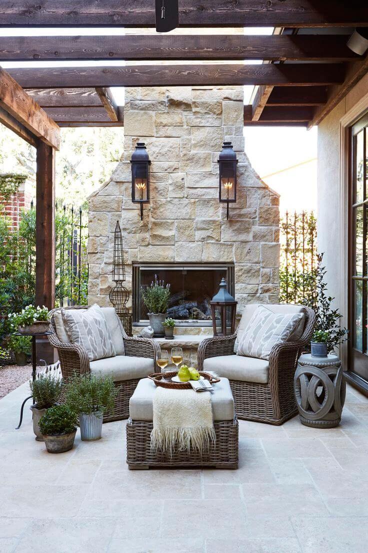 Esterno Casa Di Campagna 33 relaxing outdoor living space ideas to make your own