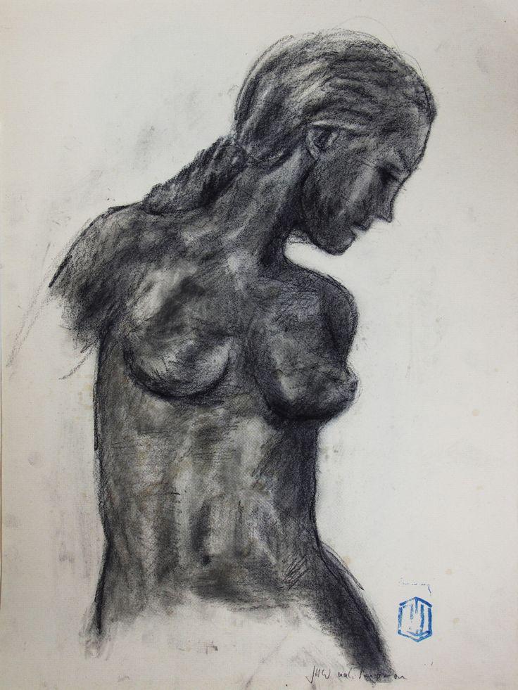 Studie nach Parramón 15 by Jens H. Westermann, #art #artist #drawing #Kunst #Künstler #Zeichnung #Westermann