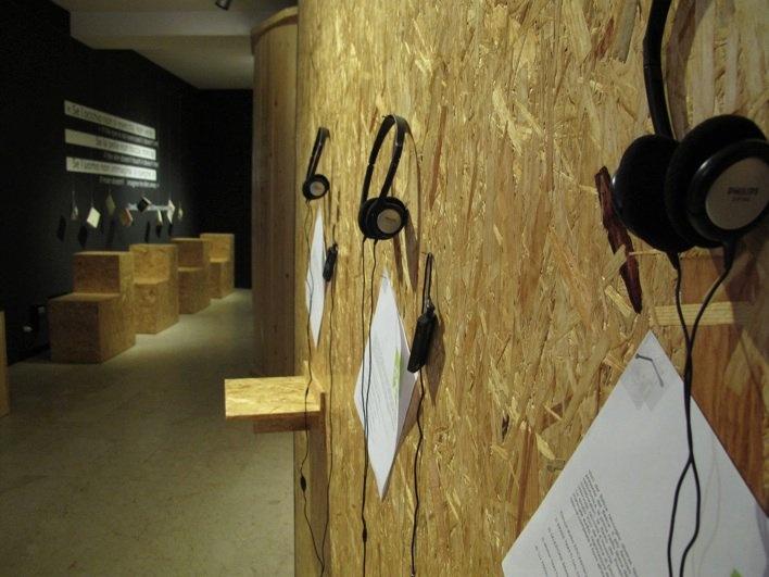 Belìce/EpiCentro della Memoria Viva, Gibellina, Sicily. The exhibit detail.