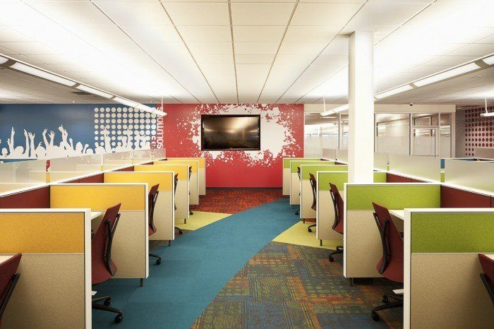 яркий офис - Fast Images