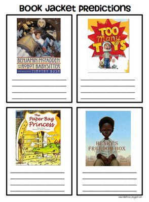 Prediction Lesson IdeaLanguages Art, Teaching Predictions, Teachers Book, Jackets Predictionspdf, Book Covers, Hello Literacy, Pack Weeks, Book Jackets, Teachers Resources