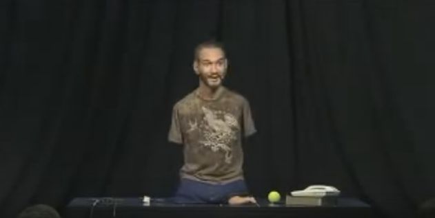Nick Vujicic - No arms, no legs - no worries! Nick Vujicic uses his story to inspire and inform people all around the world. Don't let this life changing message pass you by.
