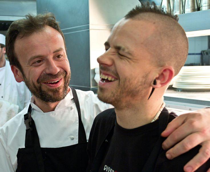 Nacho Manzano & David Munoz, Spanish laughs & cuisine!
