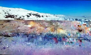 Keith Loreth Cosmic Art: Cosmic Snow Melt
