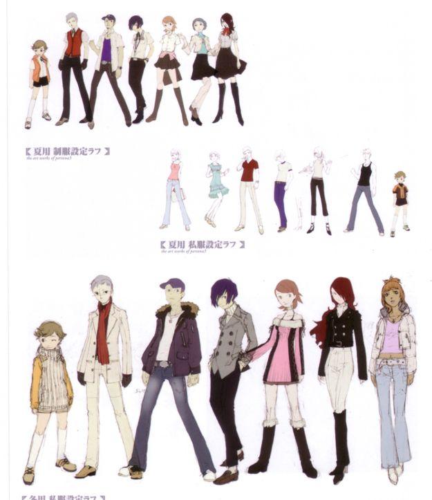 anime clothing styles
