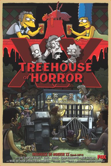 #TheSimpsons: Treehouse of Horror XX - #Halloween Wiki