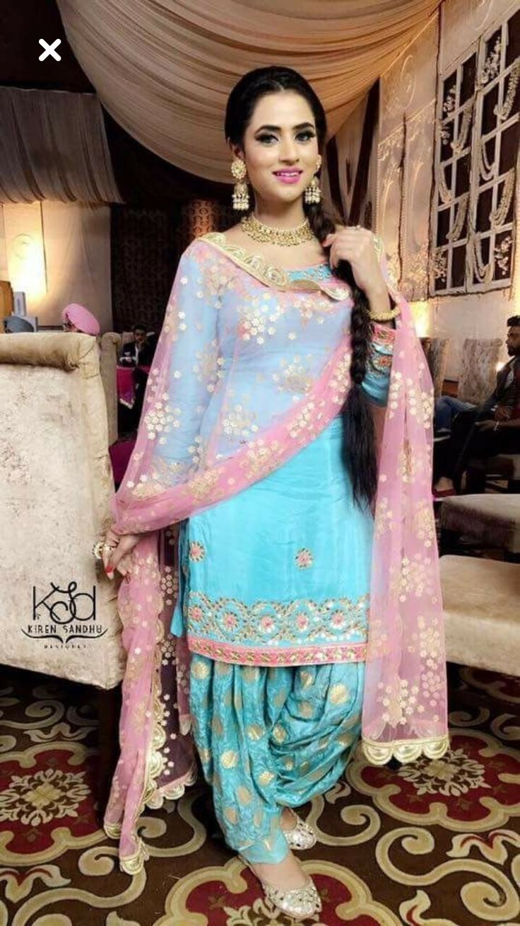 482 best punjabi outfits images on Pinterest | Indian costumes ...