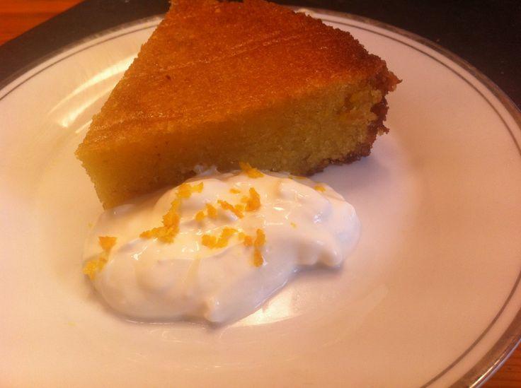 Tunisian Orange Cake Recipe