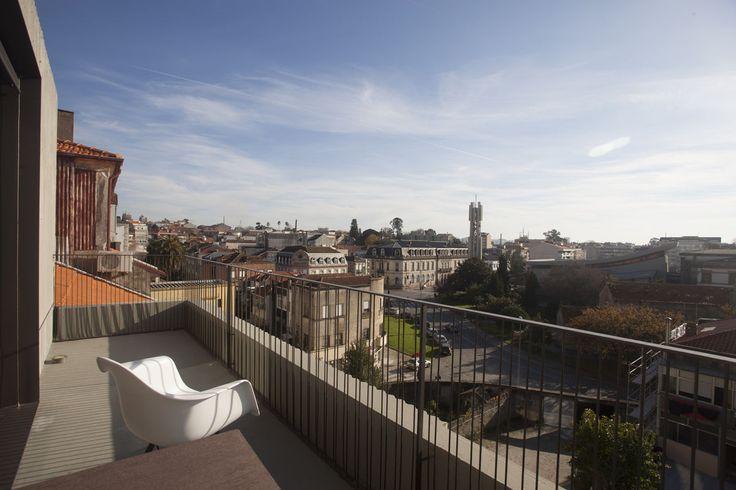Casa do Conto | Porto | Portugal | Terrace. Eames chair.