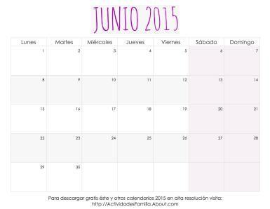 Calendario de celebraciones en Junio 2015: fechas importantes e ideas de cómo celebrarlas