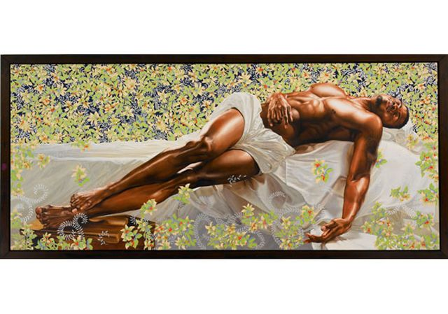 A most amazing piece of art by Kehinde Wiley. Everyone should know this artist's work.