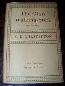 best g k chesterton images book covers cover  glass walking stick and other essays g k chesterton hbdj