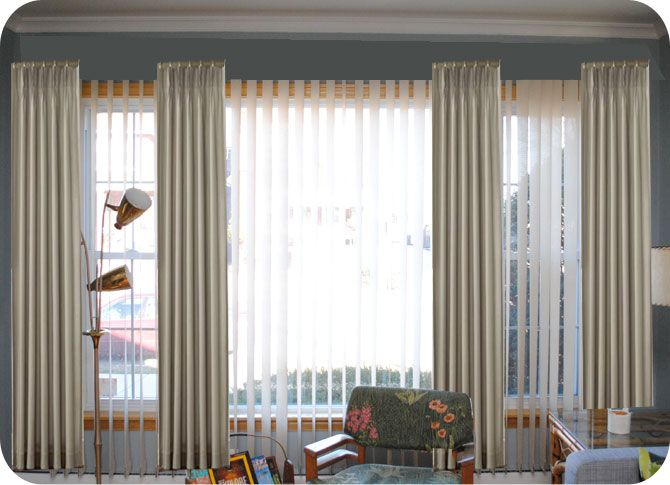 Help picking mid-century living room window treatments   by gum, by golly!