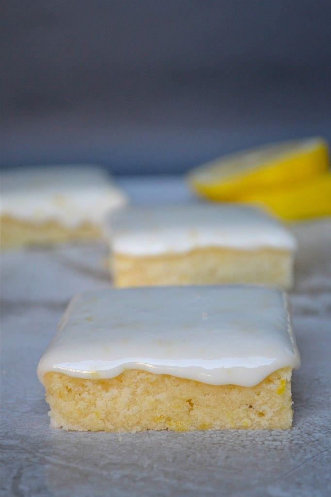Lemon Brownies--a brownie consistency with lemon instead of chocolate