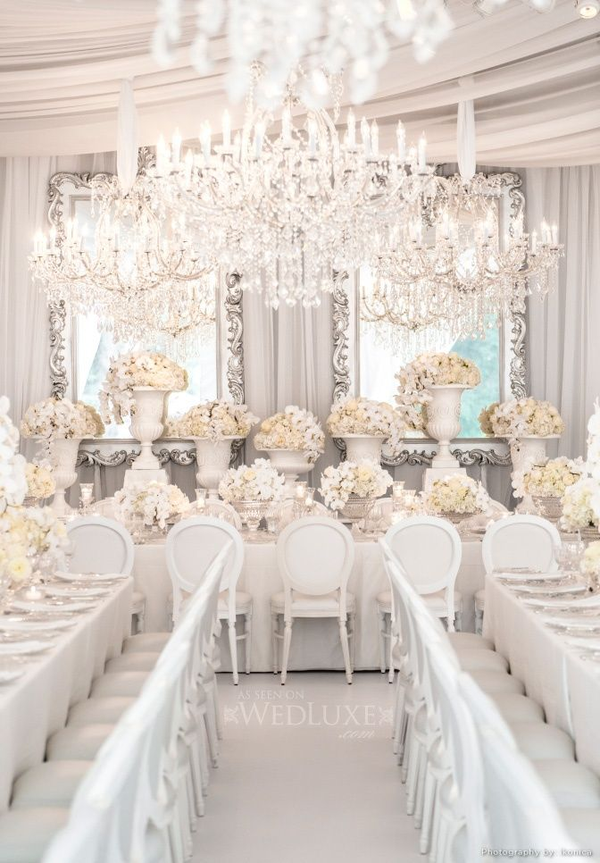 Fairytale Wedding Venue Décor
