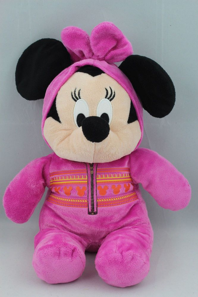 "Super Cute Whitehouse Leisure Minnie Mouse Baby Bean Bag Soft Toy Plush 14"" 35cm  