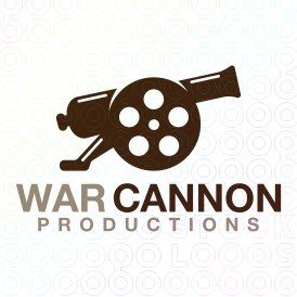 Exclusive Customizable Logo For Sale: War Cannon Productions   StockLogos.com https://stocklogos.com/logo/war-cannon-productions