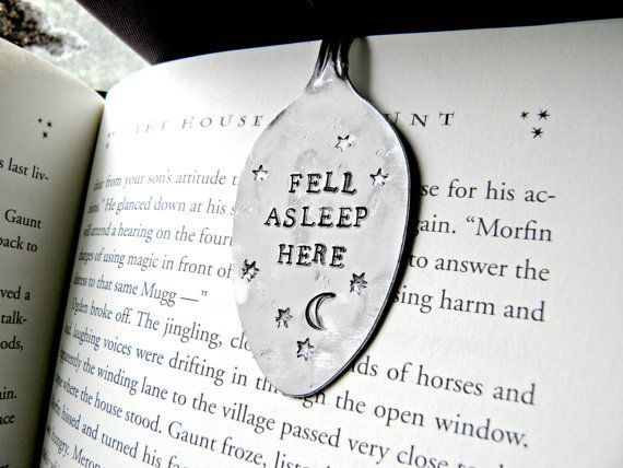 Fell asleep here. Hand stamped stainless steel by PeggysPassions