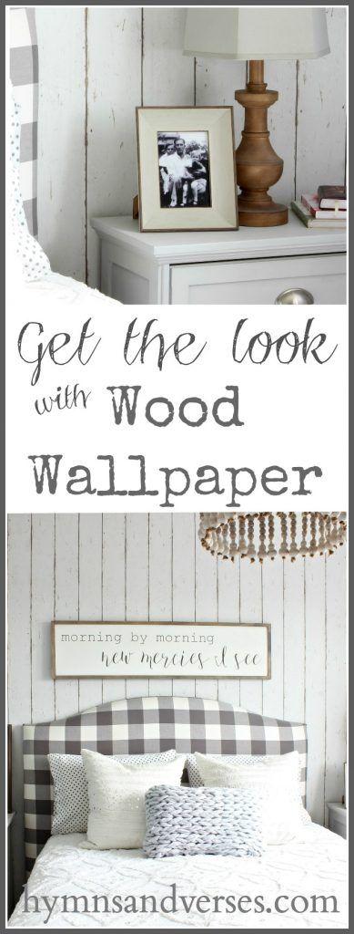 Look of Wood Wallpaper