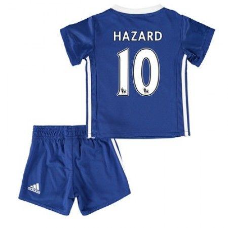 Chelsea Fotbollskläder Barn 16-17 Eden #Hazard 10 Hemmatröja Kortärmad,248,15KR,shirtshopservice@gmail.com