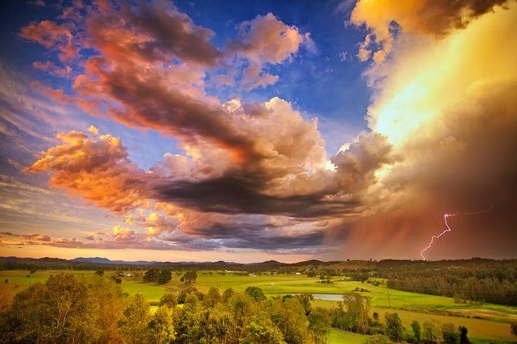 Stormy Sunset-Taree-NSW Australia by Rod Trenchard on 500px