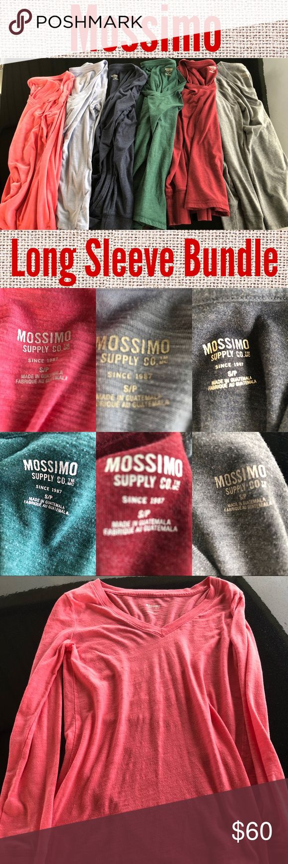 2631 Best My Posh Picks Images On Pinterest Rodeo Bundling 6 Mossimo Long Sleeve Vneck Bundle