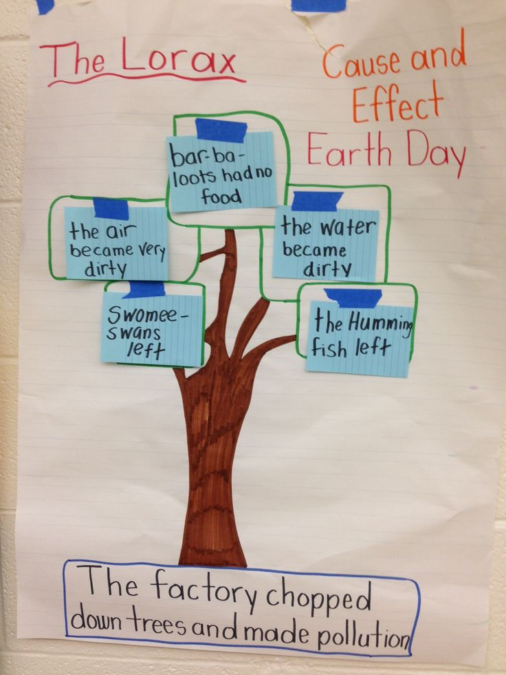 Cause and Effect: The Lorax by Mr. Suppa