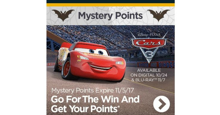 "Mystery Bonus Disney Movie Rewards Points! -   Mystery Bonus Disney Movie Reward! If you are a Disney Movie Rewards Member, Check Your Email for an Email Titled,""Your Members Update: Mystery Bonus Inside"" I Received 4 Points. Open the Email and Scroll to the Bottom and Click Where Will See Where it Says, Get My... - http://www.mwfreebies.com/2017/10/07/mystery-bonus-disney-movie-rewards-points-4/"