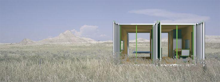 Shipping Container Modular Home Design by InterModal