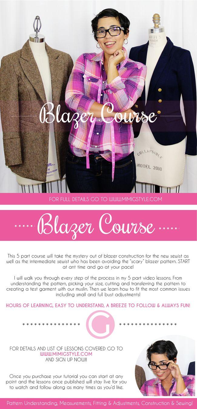 Blazer Tutorial is HERE! DIY Your OWN Blazer |Mimi G Style: DIY Fashion Sewing