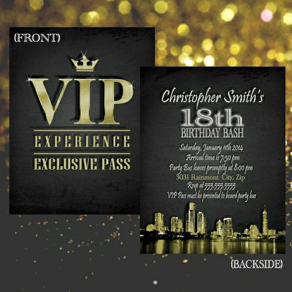 the 25+ best vip pass ideas on pinterest | rock star party, sweet, Party invitations