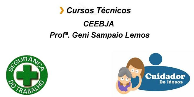 Cursos Técnicos de Segurança do Trabalho e Cuidador de Idosos - http://projac.com.br/noticias-cultura/cursos-tecnicos-de-seguranca-do-trabalho-e-cuidador-de-idosos.html
