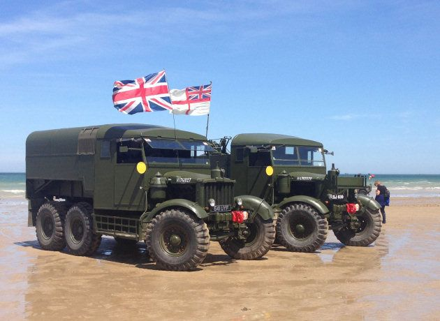 Ben Kaye's 1943 Scammell Pioneer SV 2S heavy recovery vehicle and his 1941 Scammell Pioneer R100