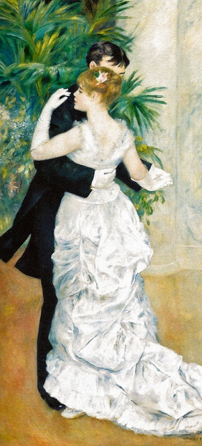 Pierre Auguste Renoir - Dance in the City, 1883 at Musée dOrsay Paris France | Flickr - Photo Sharing!